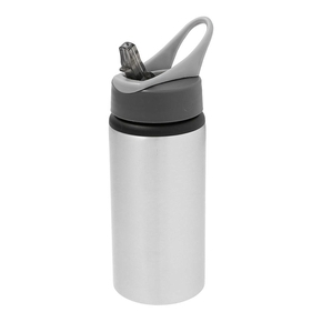 Aluminium Drinkfles 500ml silver