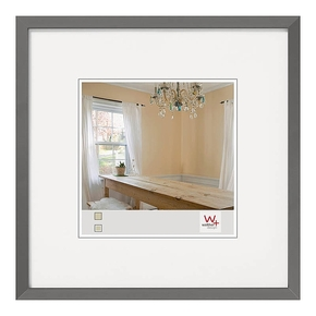 Peppers wooden frame 13x13 grey