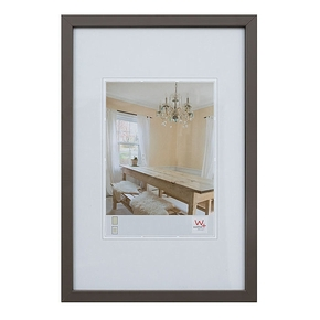 Peppers wooden frame 29,7x42 grey