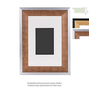 Prestige wooden Frame 20x30 PP 10x15 brown/silver (4)
