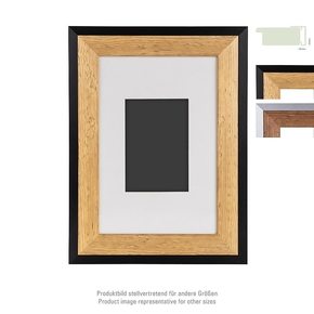 Prestige wooden Frame 20x30 PP 13x18 nature/black (4)
