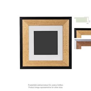 Prestige wooden Frame 20x20 PP 10x10 nature/black (4)