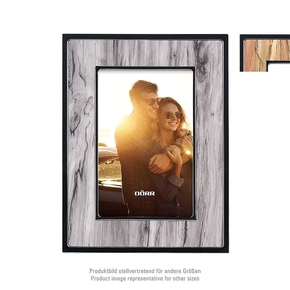 Paris plastic frame 15x20 wood grey (4)