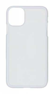 iPhone 11 Case, Plastic, White (10)