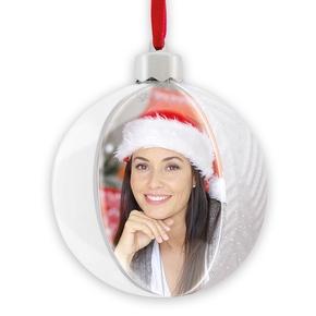 Photo Christmas Flake white