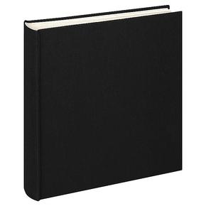 Design album Cloth linen cover 30x30cm black
