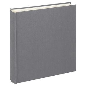 Design album Cloth linen cover 30x30cm anthracit