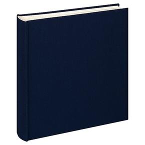 Design album Cloth linen cover 30x30cm dark blue